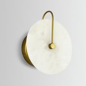 Image 5 - Zerouno Новый мраморный настенный светильник для комнаты 16 см 25 см светодиодный настенный светильник s черный золотой промышленный Современный Мраморный Настенный светильник светильники