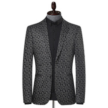 Men Suit Coat Casual Plus-Size Fashion Single-Breasted Young Small New Autumn Winter