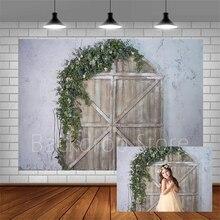 Avezano Nền Chụp Ảnh Sinh Nhật Biểu Ngữ Gỗ Vòm Phông Nền Cho Studio Ảnh Photocall Photozone Trang Trí Dán Tường