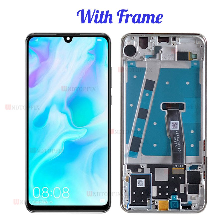 Image 3 - 100% Tested LCD For HUAWEI P30 Lite LCD Display Touch Screen with  Frame For Huawei P30 Lite Nova 4E LCD Display MAR LX1M LX2Mobile Phone  LCD Screens