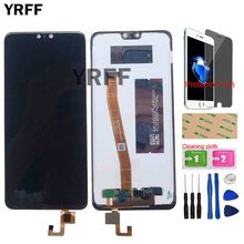 5.84 LCD Display For Doogee N10 LCD Display Touch Screen Digitizer Repair Parts For Doogee Y7 LCDs Phone Tools Protector Film