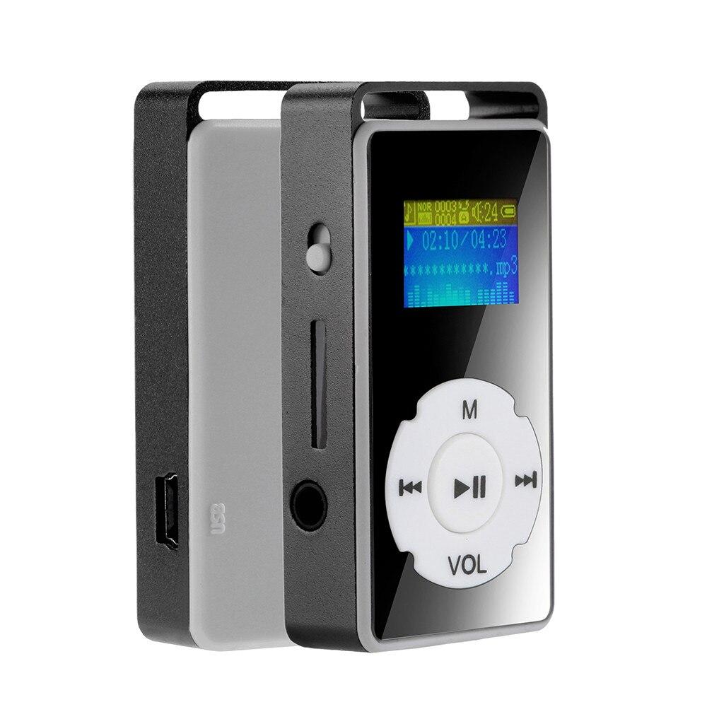 Цифровой mp3-плеер Ouhaobin, MP3-плеер с ЖК-экраном, поддержкой карт Micro SD, TF, 32 ГБ, зеркальный музыкальный медиа с fm-радио, видеоплеером