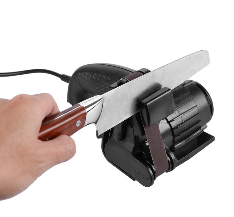 20V Automatic Hand-held Electric Adjustable Angle Durable Knife Sharpener Accessories Safe And Simple