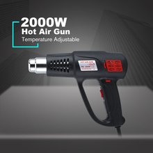 2000W Electric Industrial Hot Heat Air Gun Tool Temperature