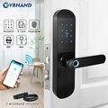Блокировка двери по отпечатку пальца с приложением TTlock бесключевая Wifi умная блокировка отпечатков пальцев пароль электронный дверной замо...
