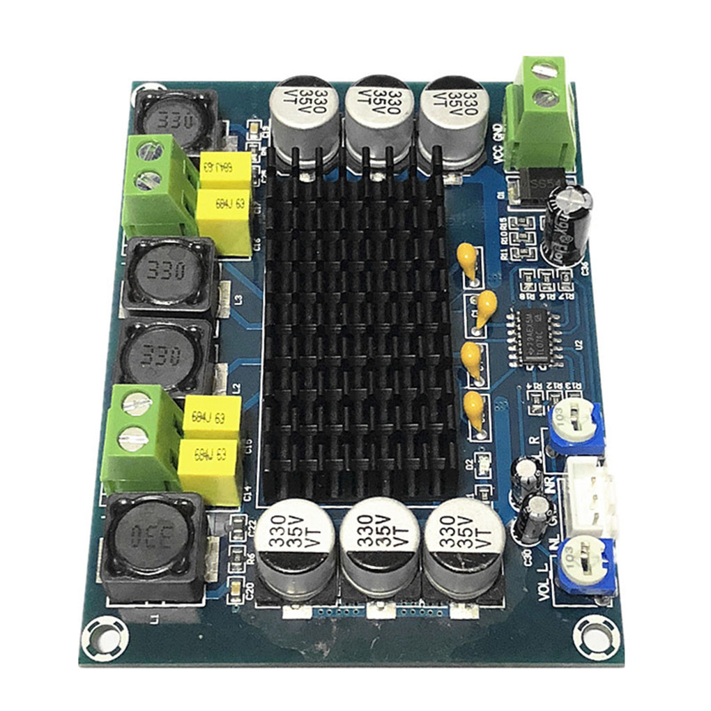 2*120W Chassis Gebaut-in-Digital Verstärker Bord Modul Dual-Kanal Amplificador Sound Verstärker Audio