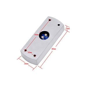 Image 3 - アクセス制御のための終了ボタンアルミ合金と下のボックス寸法: 80Lx30Wx23H(mm) 、最小: 1 個