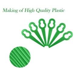 Uniwersalna przycinarka do trawy głowica 3 nylonowe plastikowe linie 3 ostrza Strimmer kosa do zarośli głowy narzędzia ogrodnicze akcesoria x|Formy do kostki brukowej|   -