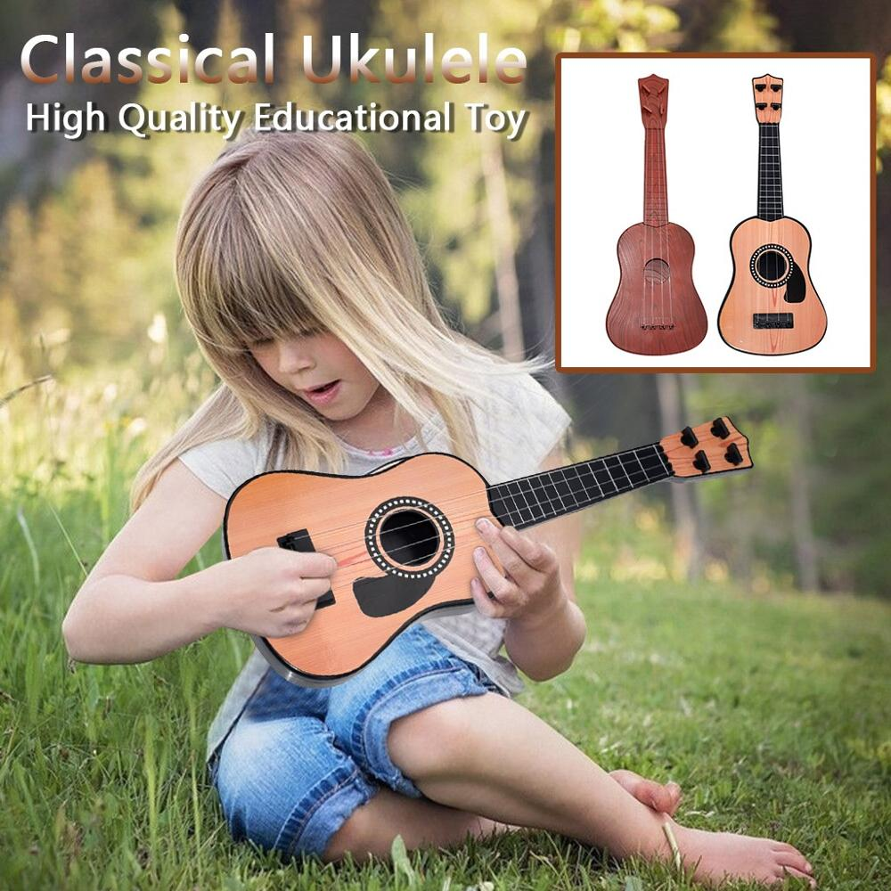 Beginner Classical Ukulele Guitar Educational Musical Instrument Toy For Kids Light-weighted And Safe Ukulele 2020 Best Gifts