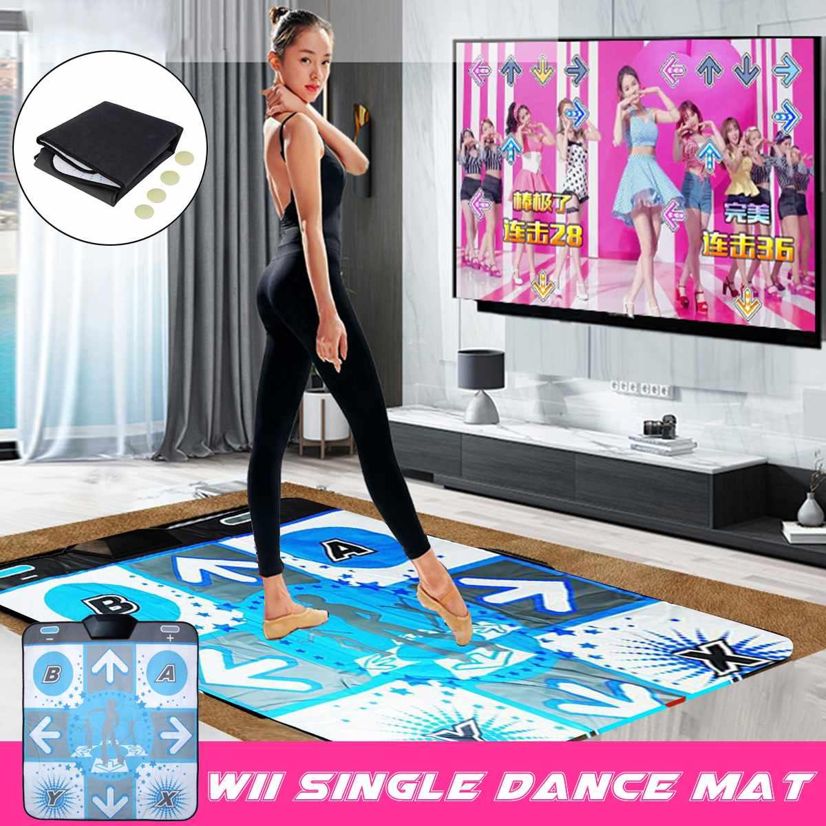 Dance Mat Pad Dancing Step Mats Pad Blanket Non-Slip Foot Print Mat for PC TV - ANKUX Tech Co., Ltd
