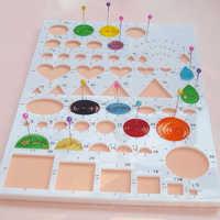 DIY Crafts Paper Quilling Template Mould Board Papercraft Crimper Art Tool Scrapbooking Art Tools Craft Supplies