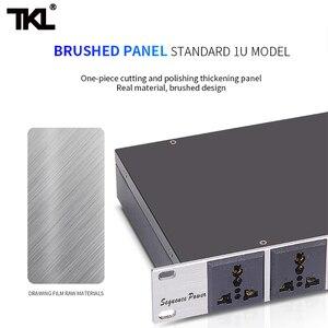 Image 4 - TKL D10 10 canaux séquence de puissance professionnel Audio contrôleur de commutateur dair barre de multiprise automatique protéger efficacement