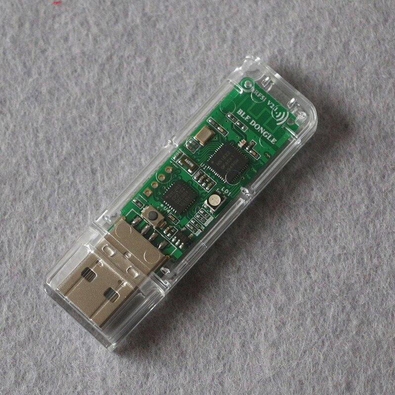 NRF51822 analyse de protocole Bluetooth basse puissance USBDongle BLE4.0 avec Sheel