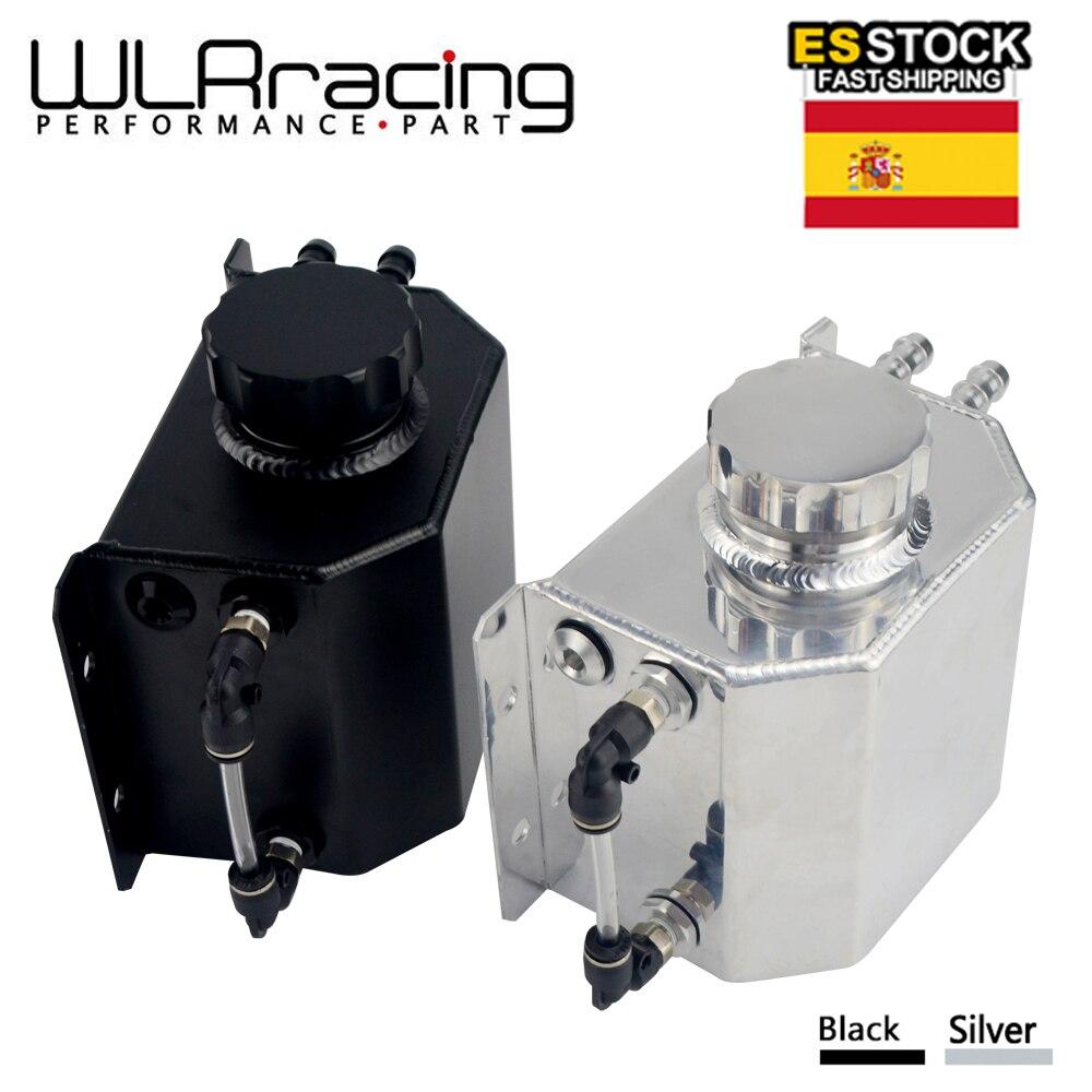 WLR RACING-Универсальный алюминиевый маслоуловитель 1Л резервуар с сливной пробкой Сапун масляный бак топливный бак WLR-TK57
