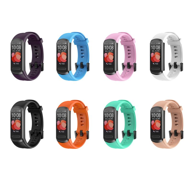 Sports Silicone Wrist Strap Watch Band For HuaWei Band 4 Bracelet Smart Watch Qyh
