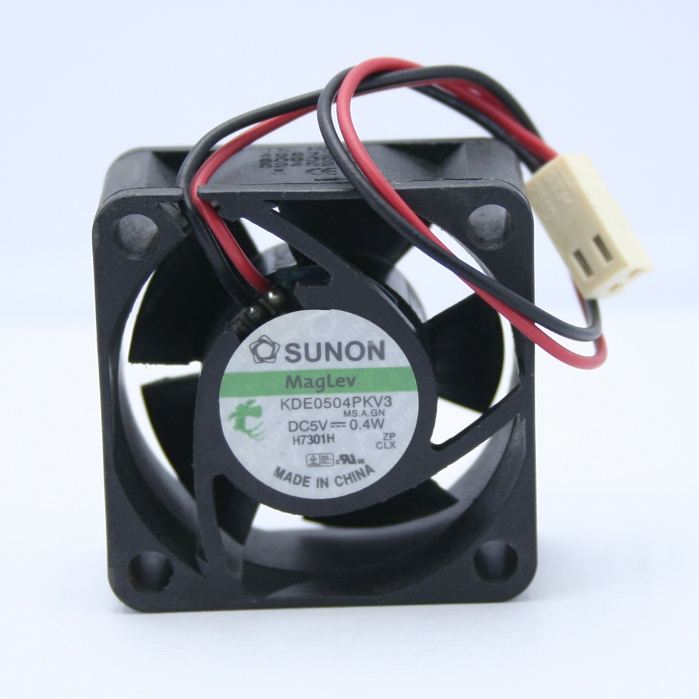 SUNON 4020 DC <font><b>5V</b></font> 0.4W 4CM 40*40*<font><b>20MM</b></font> KDE0504PKV3 2-wire Switch Silent Heat Sink Cooling <font><b>Fan</b></font> image
