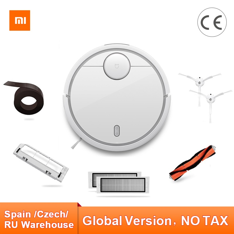 Image 2 - Global Version Original Xiaomi MI Robot Vacuum Cleaner MI Robotic Smart Planned Type App Control Auto Charge LDS Scan Sweeping-in Vacuum Cleaners from Home Appliances