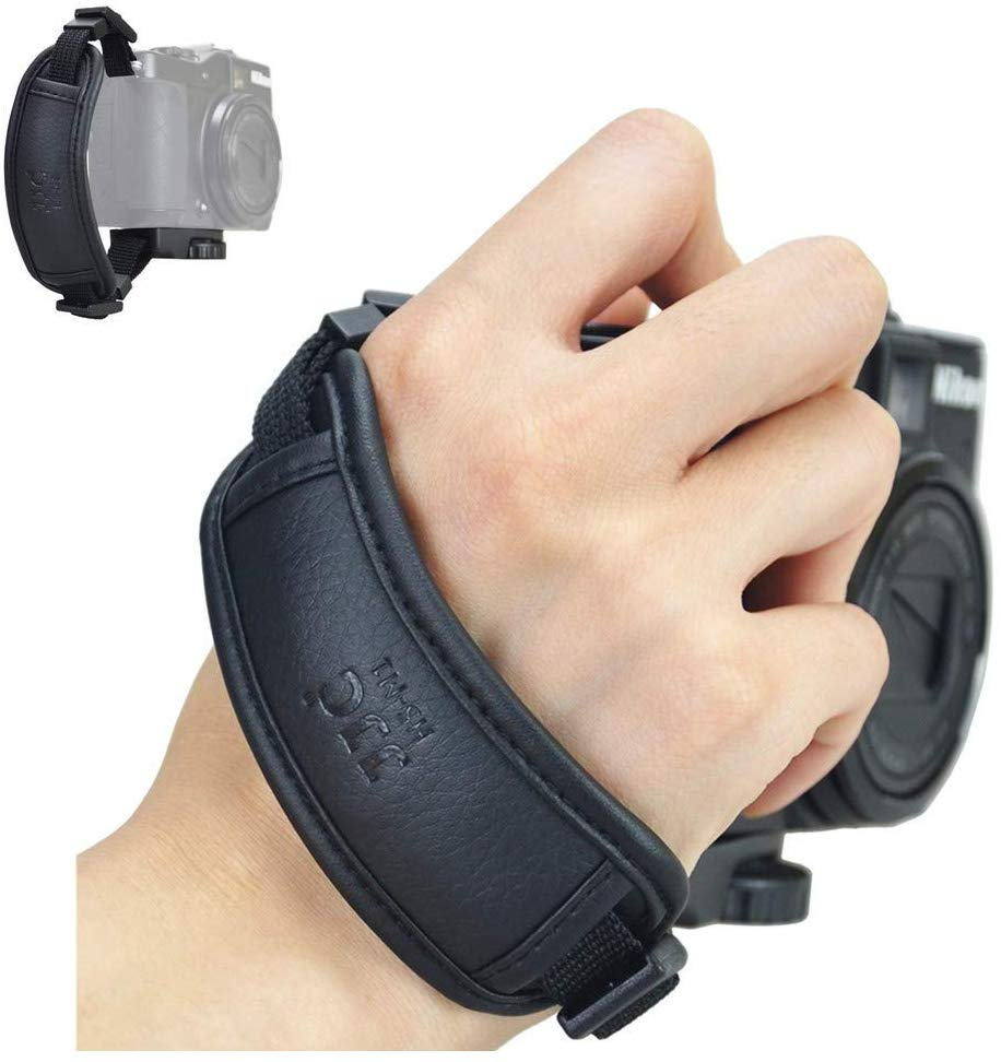 JJC Camera Hand Grip Strap for <font><b>Canon</b></font> <font><b>PowerShot</b></font> SX70 HS SX60 HS SX50 HS SX540 HS SX530 HS SX520 HS <font><b>SX420</b></font> <font><b>IS</b></font> SX410 <font><b>IS</b></font> G3X image