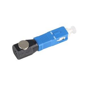 Image 2 - 무료 배송 광섬유 커넥터 라운드 sc 베어 광섬유 커플러 어댑터 변환기