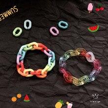 Новый акриловый браслет для женщин, прозрачные браслеты для пар
