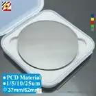 EDGEV 1PC Volle Gesicht Auf Eine Seite PCD Top Klinge Runde Diamant Material Durchmesser 62mm