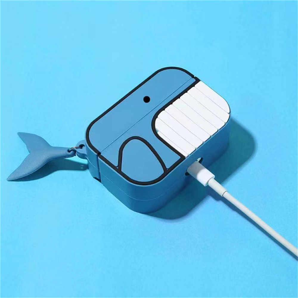 Vỏ Bảo Vệ Hoạt Hình Dễ Thương Ốp Tai Nghe Dành Cho Apple AirPods Tai Pro 3 Tai Nghe Bluetooth Không Dây