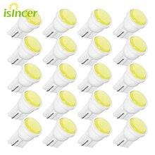20 sztuk T10 samochodów biały LED 194 168 SMD W5W światło boczne żarówki samochodów zewnętrzne światła obrysowe Led 12V Wedge Side żarówki lampy