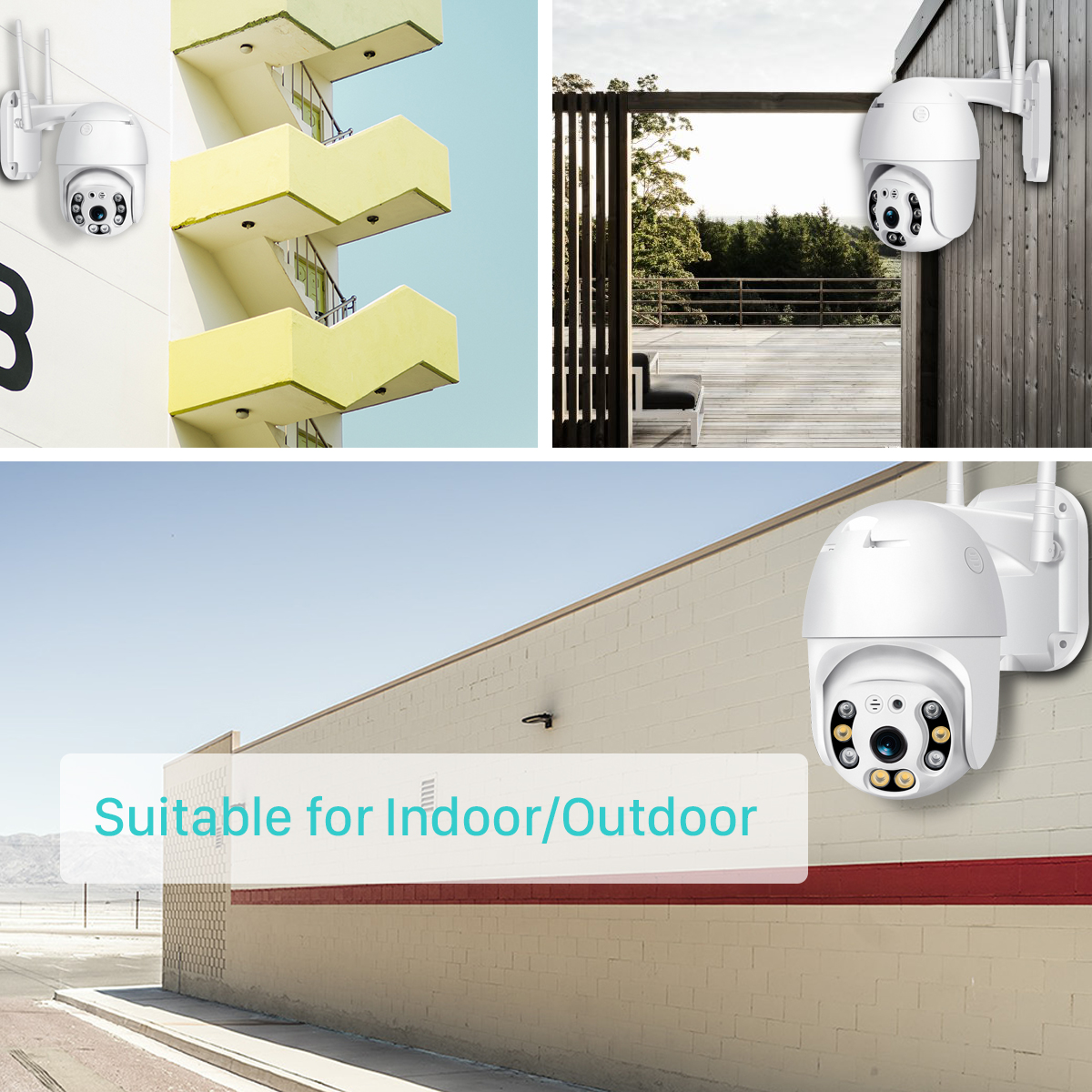 H366ed63eaf774c4c96cdc5cde2864ad2W BESDER 1080P Outdoor Speed Dome Wifi Camera 2MP H.265 Audio PTZ Wireless Camera Cloud-SD Slot ONVIF Home Surveillance IP Camera