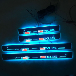 Image 2 - 4PCS/set Applicable to LLEXUS Streaming colour LED Lamp Door sills Welcome Pedal/Dynamic Lighting Vehicle Threshold For LEXUS ES