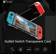 Gulikit透明クリスタルニンテンドースイッチlite nsスイッチ360プロテクター互換ルート空気ドック