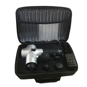 Image 3 - 1200 3300r/min elektryczny masażer mięśni terapia masaż powięzi pistolet głębokie Vibraion rozluźnienie mięśni kształtowanie sylwetki Fitness z torbą