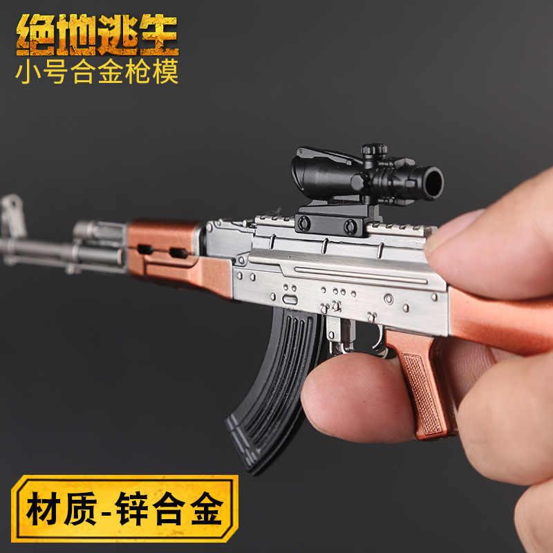 Jedi קרב רויאל 98 K הקשורים מוצרים M416 רובה AWM נשק דגם scarl צעצוע אקדח AKM Keychain תליון