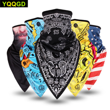 Купить с кэшбэком 1Pcs Lengthen Breathable Outdoor Windproof Dust Face Mask for Women Men Youth Cycling Sports Bike Motorcycle Neck Warmer Masks