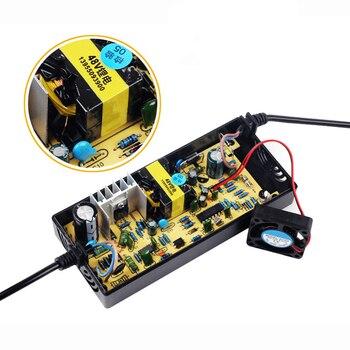 36/48V2A uniwersalny pojazd elektryczny elektryczna ładowarka rowerowa ładowarka akumulatorów litowych Adapter rowerowy część для электровелосипеда