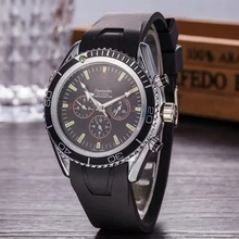 Luxury Brand Men Quartz Watch Quality AAA Watches with Silic