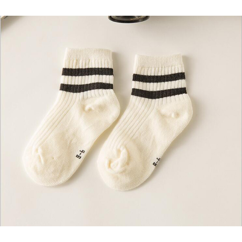kids Socks  Cotton Boy's Girl's Lovely  striped style All-match Baby Children's Sock 1-10year 10pair=20pc=lot sales direct 6