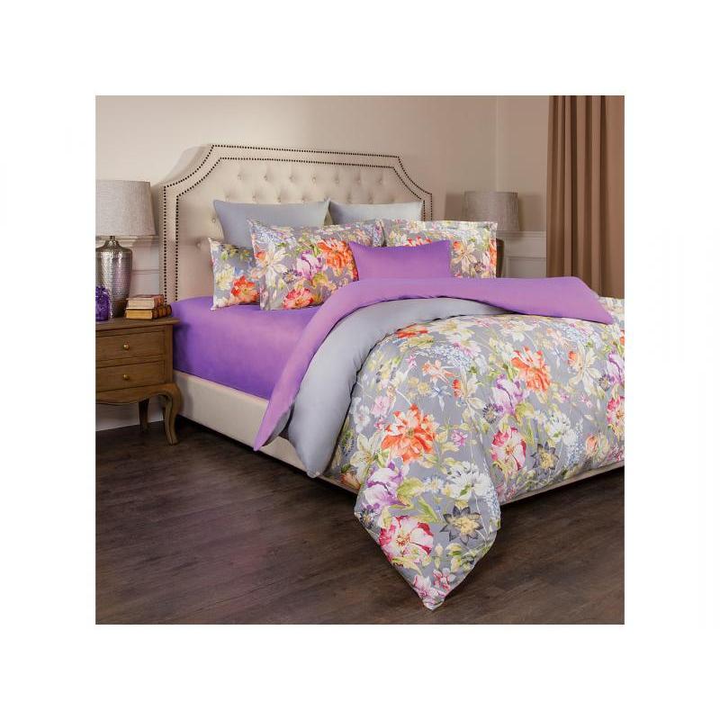 Bedding Set полутораспальный SANTALINO, PASTORAL, gray/Lavender pastoral livelihoods in tanzania