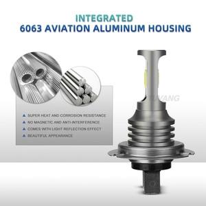 Image 4 - 2 lâmpadas de carro externas automotivas, lâmpadas led para carro, h7, h8, h11, 9005, hb3, 9006, hb4, h16, h1, h3, 881, 880, 3570 fonte de luz led para condução de nevoeiro