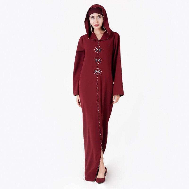 Abaya Turkey Muslim Hijab Dress Pakistani Islamic Dresses Caftan Marocain Long Kaftan Dubai Niqab Vestidos Robe Musulmane Longue