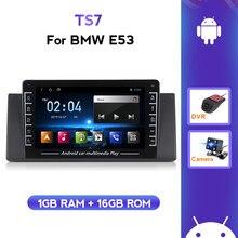 1280*720 Radio samochodowe z androidem multimedialny odtwarzacz wideo nawigacja GPS dla BMW 5 E53 X5 E39 1995-2005 2006 nie 2din 2 din
