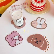 Creative cute table placemat waterproof heat insulation non