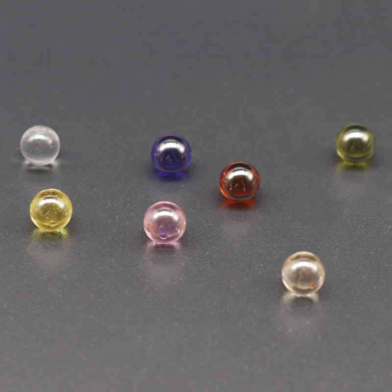 OD 6mm Terp Pearls Ball Terp Pearl For Quartz Banger Nails dab rig Glass Bongs 1