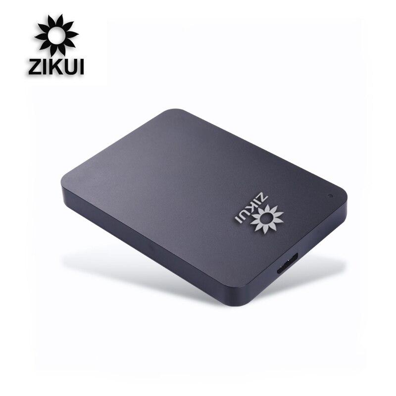 "Disco rígido externo de zikui hdd 2.5 ""disco rígido externo 250 gb/320 gb/500 gb/1 tb/2 tb disco rígido disco rígido disco rígido externo duro"