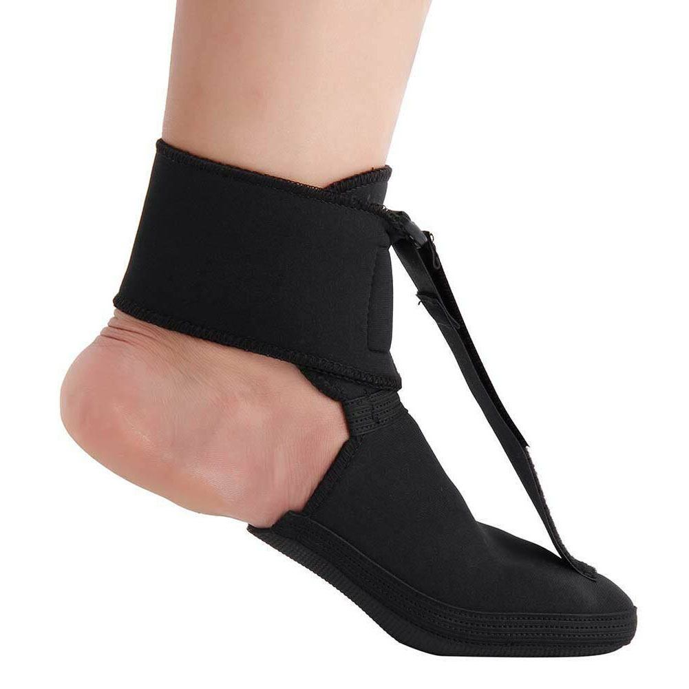Night Splint Recovery Health Care Adjustable Foot Brace Toe Non Slip Sole Stretchy Sports Pain Plantar Fasciitis Magic Sticker