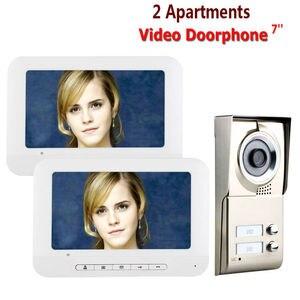 Видеодомофон Yobang, домофон с 2-мя кнопками, водонепроницаемость, бесплатная доставка