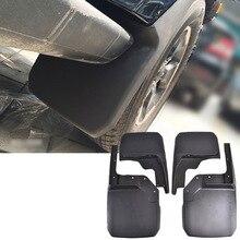 XUKEY 4PCS Front+Rear Mud Flaps Fit For Jeep Wrangler JK 2007 2016 Mud Flap Splash Guards Fender 2015 2014 2013 2012 2009 2011