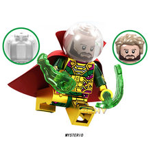 Mysterio Super Heroes New Spider Man Far From Home Melting Man Hydro-man Building Blocks Aciton Figure Bricks Toys Child Gifts(China)