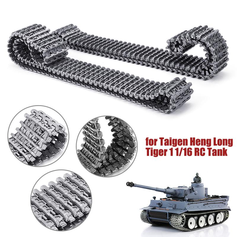 2pcs Metal Tracks s Crawler Chain for Heng Long Taigen Tiger 1 1:16 Scale DIY RC Tank German tiger Replacement spare