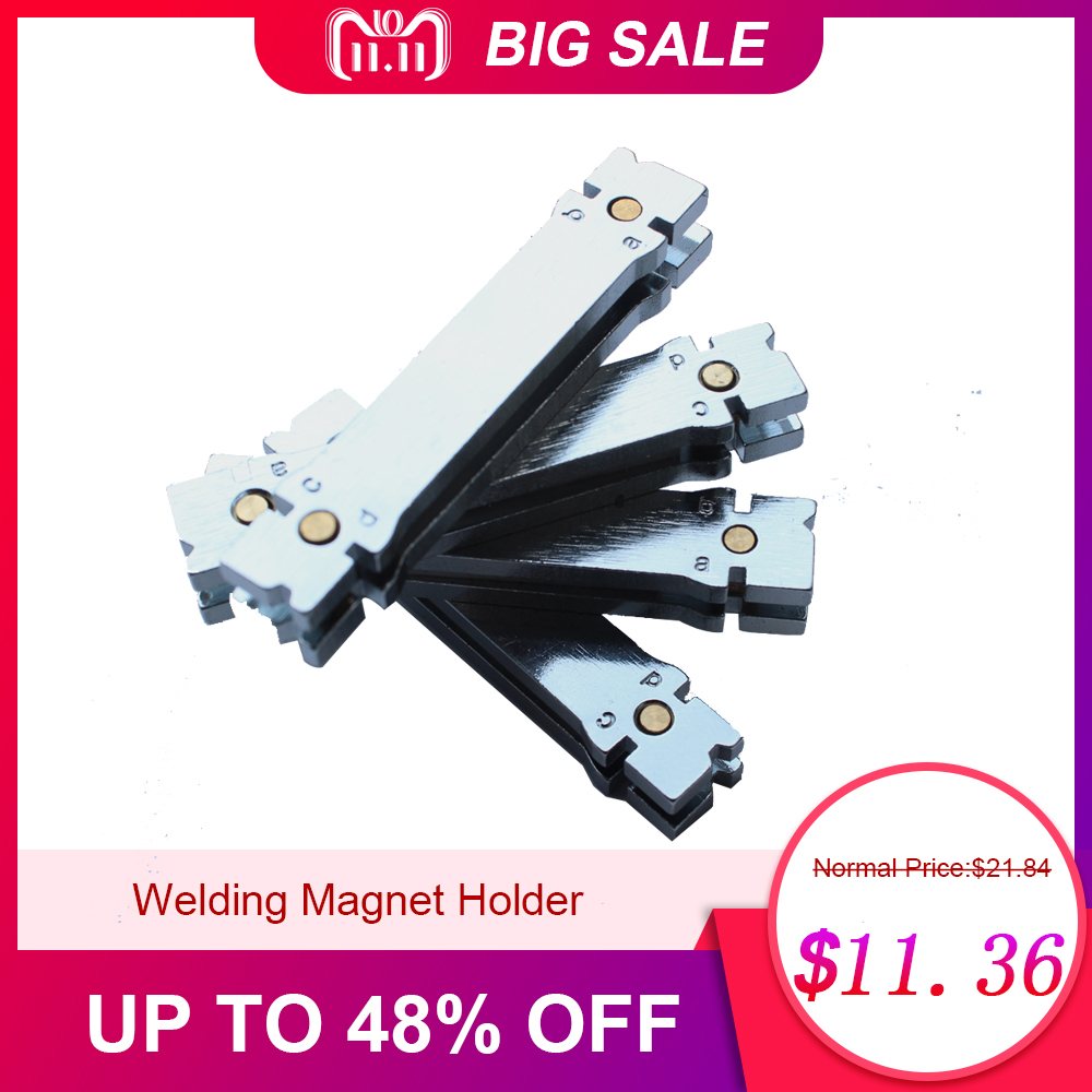 Welding Magnet Holder High Quality Magnetic Brazed Tool For Diamond Core Drill Bit Segments High Accuracy Heat Resistance