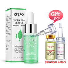 Green Tea Serum Essence for Skin Care Anti Acne Oil Control Face Serum Whitening Moisturizing Face Cream Shrink Pores Face Care цены онлайн